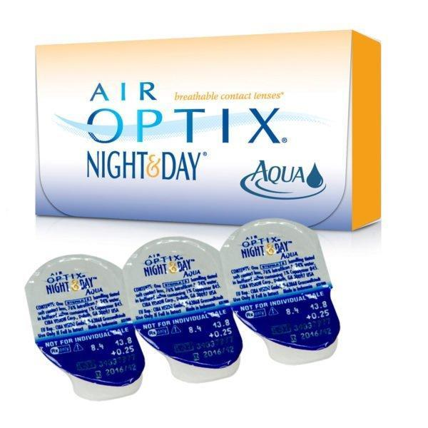 AIR OPTIX NIGHT& DAY AQUA | ЗіР 100%